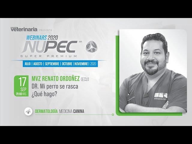 Webinars Nupec 2020 | Dermatología Medicina Canina