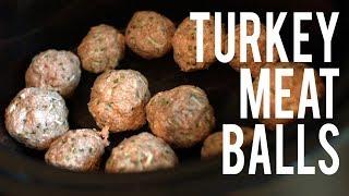 Turkey Meatballs Recipe - High Protein, Low Carb   Buff Dudes Food