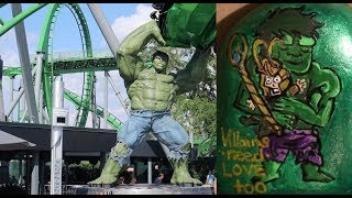 Time Lapse Painting: HULK on a Rock   Painted Rock Ideas   Kindness Rocks