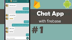 Chat App with Firebase - Android Studio Tutorials