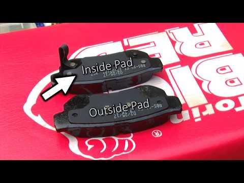 2008 Hyundai Elantra Rear Brake Pad Replacement (Fix Brakes)