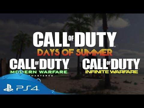 Call of Duty: Infinite Warfare & Modern Warfare Remastered | Days of Summer | PS4