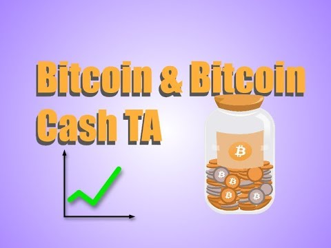 Bitcoin & Bitcoin Cash (Technical Analysis)