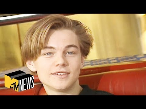 Leonardo DiCaprio in Paris (1995) 🇫🇷 You Had To Be There | MTV News