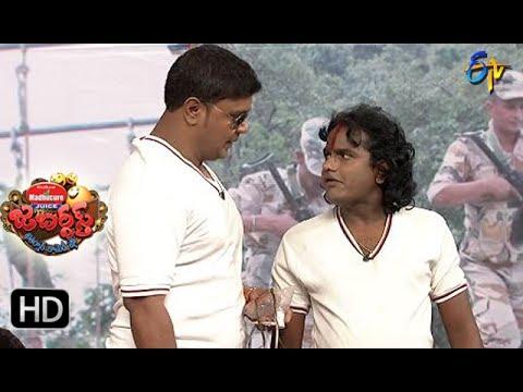 BulletBhaskarSunamiSudhakarPerformance | Jabardsth | 13th  July 2017| ETV  Telugu