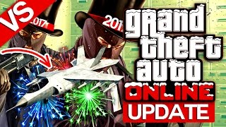 Versus! Cel mai rapid avion din joc ?   GTA Online (UPDATE Curse)