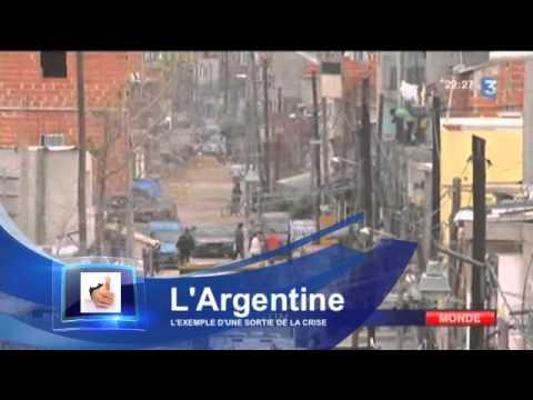 En France, Marine Le Pen veut agir là où l'Argentine a réussi