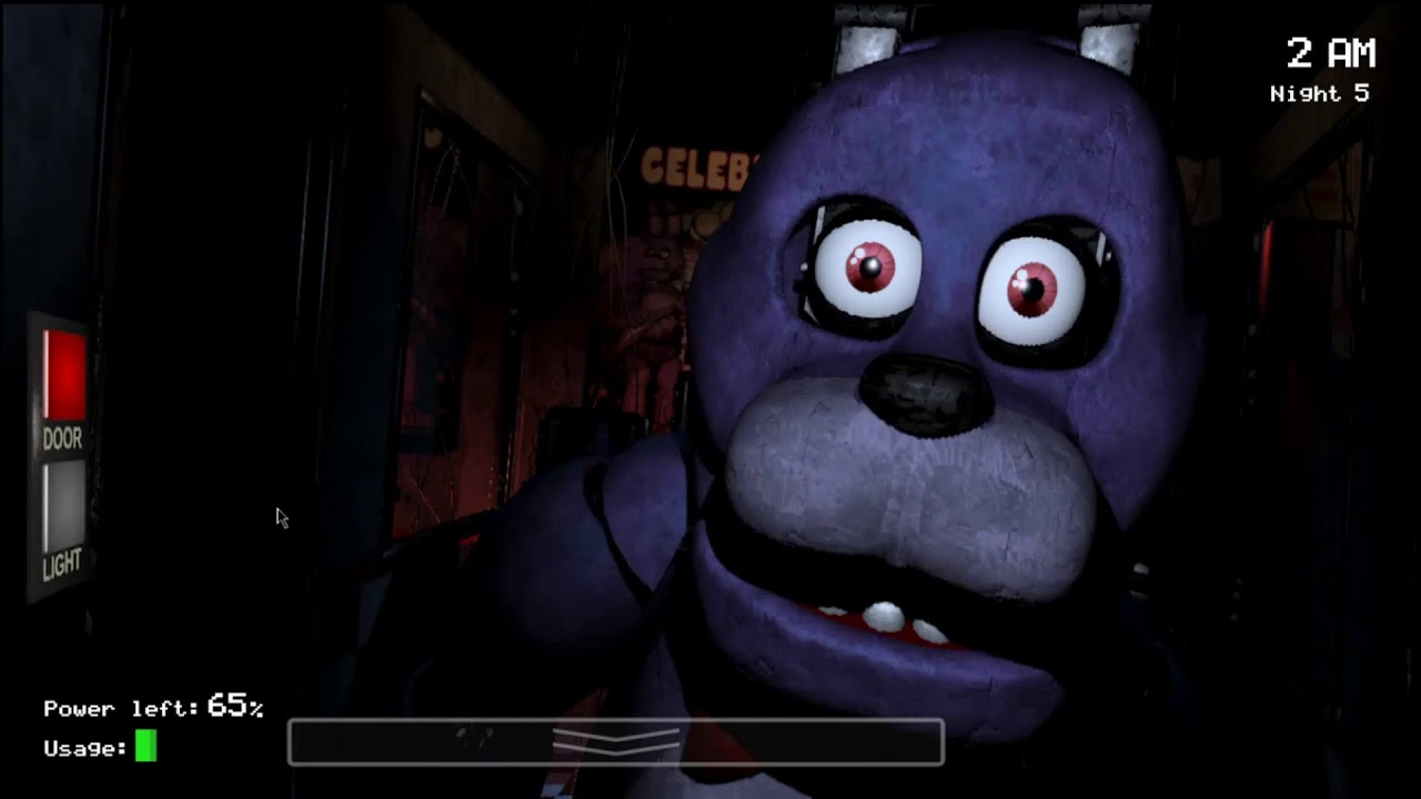 Trying Night 5 in FNaF 1 | Freddy wants me to suffer...