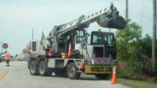 PINELLAS COUNTY HIGHWAY DEPT. CLEANING DRAINAGE DITCHES, RUNNING ON BIO DIESEL
