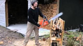 Etienne Muller's Chainsaw Sawhorse