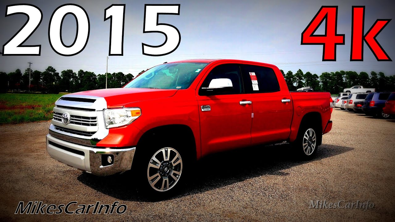 2015 Toyota Tundra 1794 Edition Ultimate In Depth Look in 4K