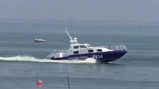 Показательные выступления I регата ко Дню ВМФ России «Таганрог – первая военно-морская база России»
