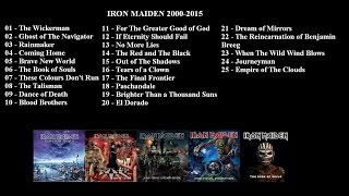 Iron Maiden | The Best of 2000-2015 | Ultimate Playlist