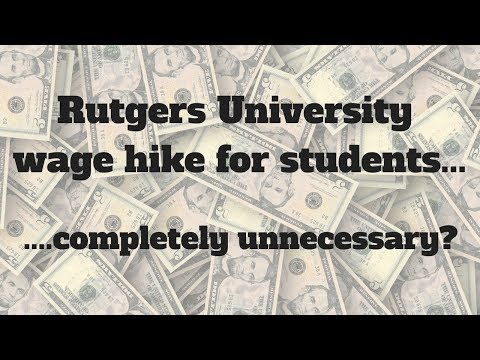 What happened to Rutgers University?