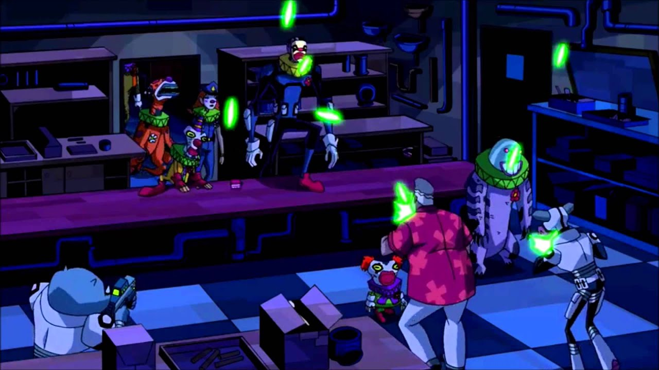 ben 10 - zombozo u0026 39 s zombie-clown invasion