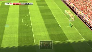 Pro Evolution Soccer 2014 pc patch  gameplay watch in 720p or 1080p