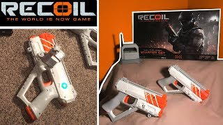 Recoil Laser Tag - Review - How Recoil Works! | TanMan321Go