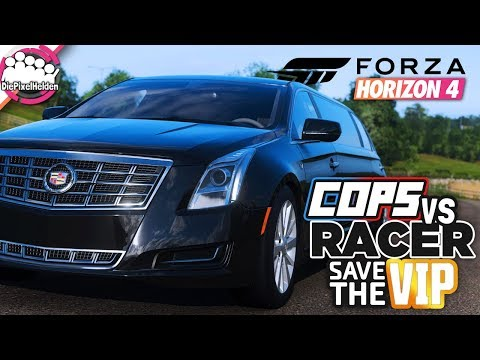 FORZA HORIZON 4 - COPS vs RACER SAVE THE VIP : Vertauschte Rollen - Forza Horizon 4 MULTIPLAYER