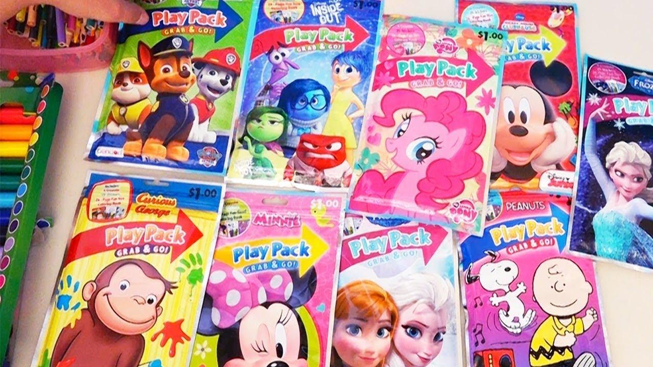 Desenhos Para Colorir Frozen, MLP, George Curioso, Minnie