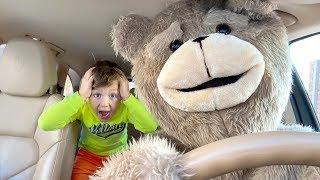 Senya and Rules of Good Behaviour for Teddy Bear.