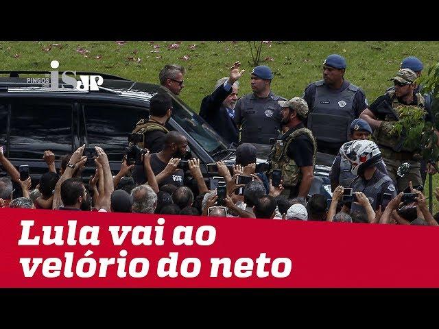 Lula vai ao velório do neto em SP