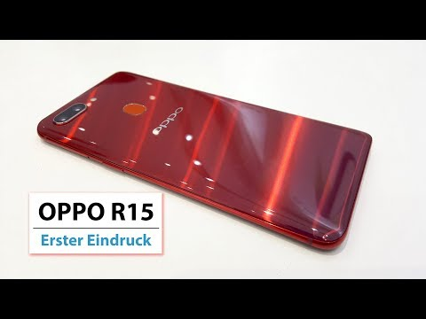 OPPO R15 Hands On deutsch
