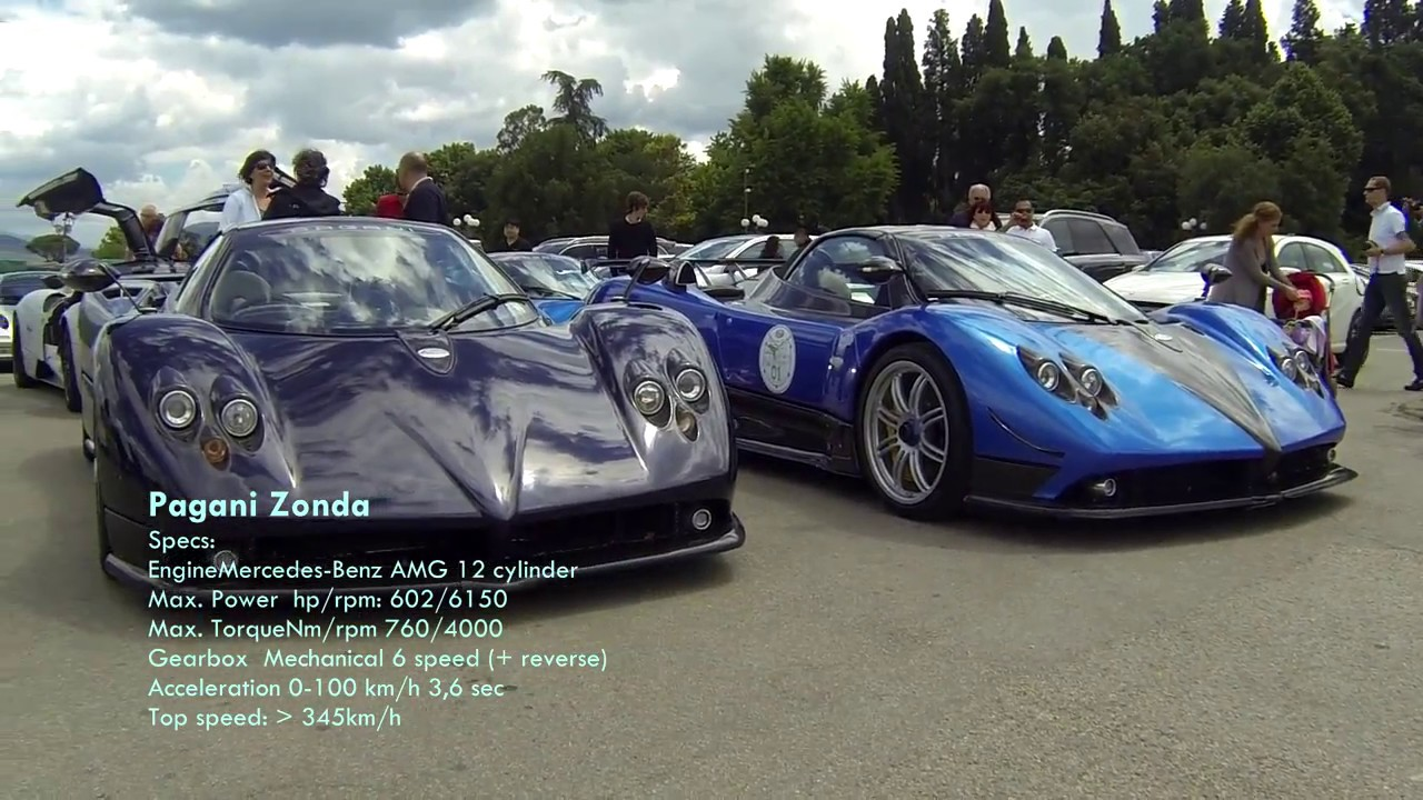 Pagani Zonda & Pagani Huayra - Italian Supercars