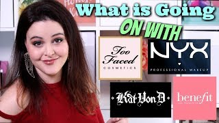 Makeup Brands That Can Do Better! Too Faced, Kat Von D, Benefit, & NYX! | Jen Luvs Reviews