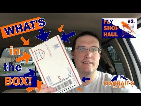 FLY SHOP HAUL #2 - Steen Waste Catcher