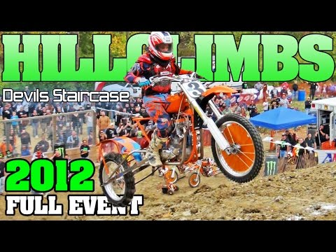 FULL EVENT: Devils Staircase Pro Hill Climb 2012, dirt drag racing Oregonia Ohio