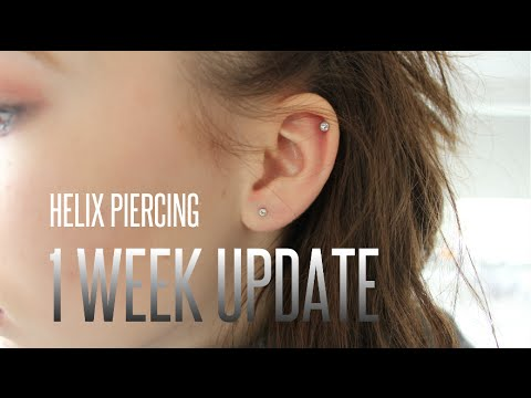 how to change helix piercing