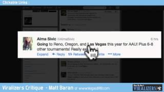 Viralizer Critiques - Matt Baran - VegasBRB.com
