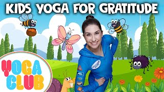 Kids Yoga For Gratitude ✨ Yoga Club (Week 41) | Cosmic Kids Yoga