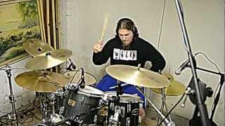 mudvayne - dig drum cover