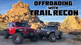 TrailRecon & Lite Brite Go Offroading Together!