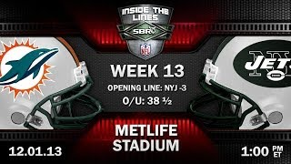Miami Dolphins vs New York Jets NFL Week 13 Preview | NFL Picks with Tony George and Peter Loshak