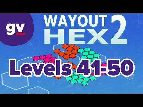WayOut 2: Hex - Walkthrough Levels 41-50 |