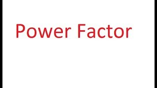 What is Power Factor in Hindi ?