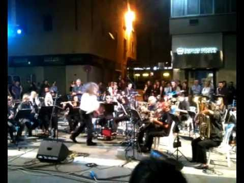 Live music performance in Arezzo, Italy
