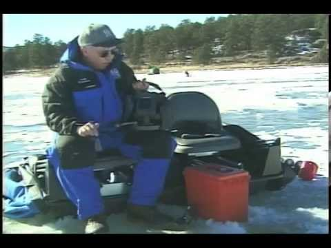 Dowdy Ice Fishing With Electronics