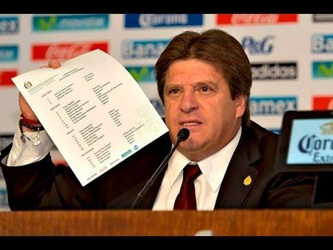 "Convocatoria de #México para el mundial ""Brasil 2014"""