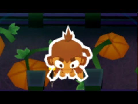 Can You Beat CHIMPS Mode With Only Towers On The Pumpkin Patch? (Bloons TD  6)