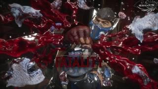 MORTAL KOMBAT 11 Sub Zero Fatal Blow & Fatalities Showcase (MK11 Sub Zero)