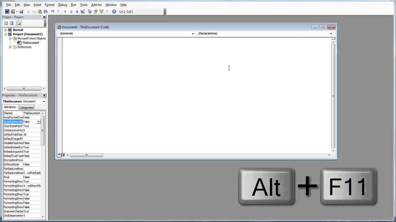 Expanding and collapsing in Microsoft Word