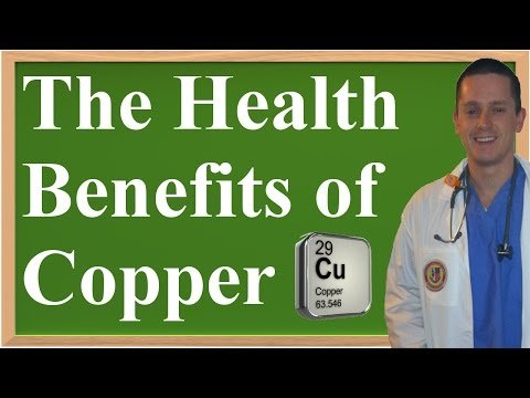 The Health Benefits of Copper