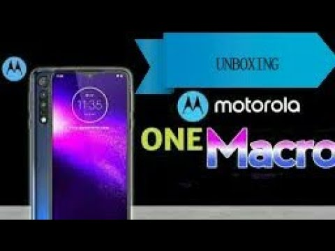 #technews10  MOTOROLA ONE MACRO UNBOXING & REVIEW