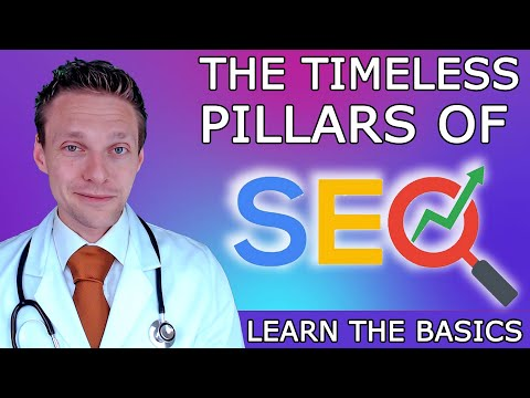 SEO For Beginners 2020 - The 3 Pillars of SEO | Learn with the WPress Doctor