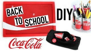 Video DIY Back To School COCA COLA : Fournitures Scolaires (français) download MP3, 3GP, MP4, WEBM, AVI, FLV Januari 2018