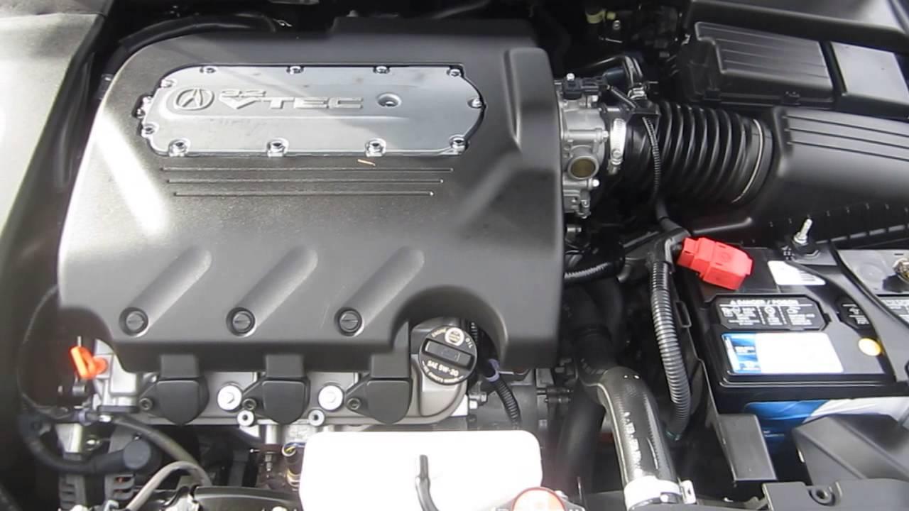 Acura TL Black STOCK A Engine YouTube - 2006 acura tl engine