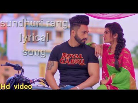 sandhuri-rang:-kaur-b-(full-lyrical-song)-laddi-gill-|-fateh-shergill-|-latest-punjabi-songs-2019